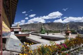 Samye Monastery near Tsetang in Tibet - China — Stock fotografie
