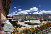 Samye Monastery near Tsetang in Tibet - China — Stock Photo