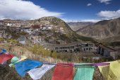 Ganden Monastery in Tibet - China — Foto Stock