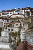 Ganden Monastery in Tibet - China — ストック写真