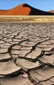Sossusvlei - Namib Desert - Namibia — Stock Photo
