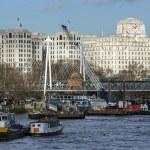 River Thames - London - England — Stock Photo #62781197