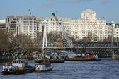 River Thames - London - England — Stock Photo