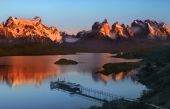 Torres del Paine National Park in Patagonia in Southern Chile — Stock Photo