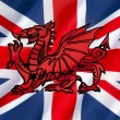 Possible design for flag of the United Kingdom — Stock Photo #63456633