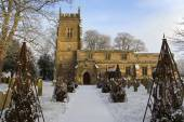 English Parish Church - North Yorkshire - England — Stock Photo