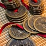 Monedas chinas antiguas - China — Foto de Stock   #65065909