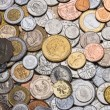 Collection of Worldwide Coins — Stock Photo #66134793