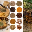 Cooking Spices - Flavoring and Seasoning — Stock Photo #66877763