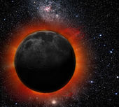 Eclipse de sol — Foto de Stock