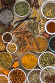 Dried Herbs and Spices — Stock Photo