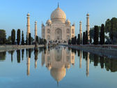 Taj Mahal - Agra - India — Stock Photo