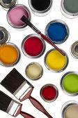 Pintura e decoração — Fotografia Stock