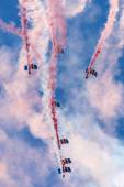Falcons Parachute Display Team — Stock Photo