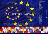 Countries of the European Union — Stock Photo