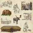 Belarus: Travel around the World. An hand drawn illustration. — ストック写真 #58019481