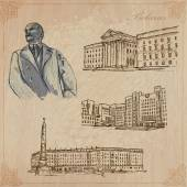 Belarus. Hand drawn vector pack no.1 — Stock Vector