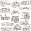 Architecture, Famous places - Full sized illustrations — Stock Photo #61329731