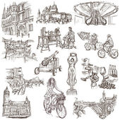 Luxembourg Travel - Full sized drawings — Stock Photo