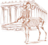 Legendary animals and monsters: CENTAUR — Stock Photo