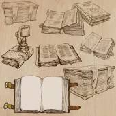 Books. Pack of an hand drawn vectors — Stok Vektör