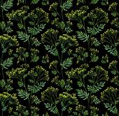 Seamless flowers pattern — Stock Photo
