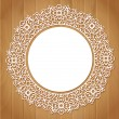 Ornamental round lace pattern — Stock Vector #74002947