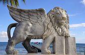 ヴェネツィアの有翼ライオン — ストック写真
