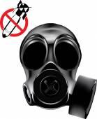 Vector gas mask. Eps 10 — Stock Vector