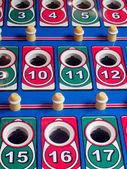 Винтажные пинбол игра — Стоковое фото