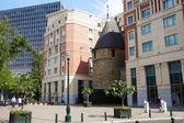 Brussel Black Tower (Xiii eeuw) — Stockfoto