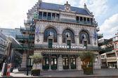 Vlaamse theater van Brussel met verschillende niveaus van balkons — Stockfoto