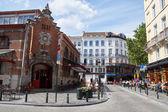 Markthallen van Saint-Gery, Brussel, België — Stockfoto