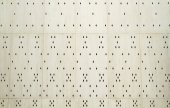 Perforated tiled wall — Stock Photo