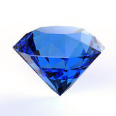 Blue diamond — Stock Photo