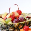 Fruits salad in pineapple — Stock Photo #61306655