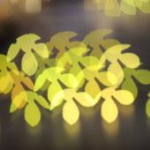 Nice bokeh from canival lighting — ストック写真
