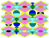 Geometric pattern — Photo