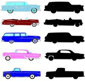 Vintage autos collection — Stock Photo