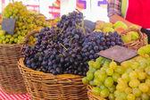 Market Grapes — Foto Stock