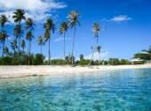 Beaches in French Polynesia — Stock Photo
