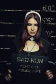 Bad nun — Stock Photo