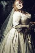 Noiva de mortos-viva — Fotografia Stock