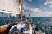 Segelboot — Stockfoto