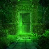 Cripta verde — Foto de Stock