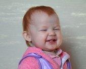 Child smiles — Stock Photo
