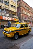 Ambassador Cab — Zdjęcie stockowe