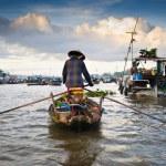 Floating market — Stock Photo #55847951