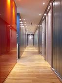Nowoczesne korytarza — Zdjęcie stockowe