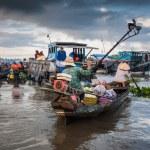 Floating market — Stock Photo #72021985